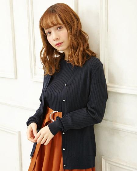 【WEB先行】【春の新作】ニットアンサンブル