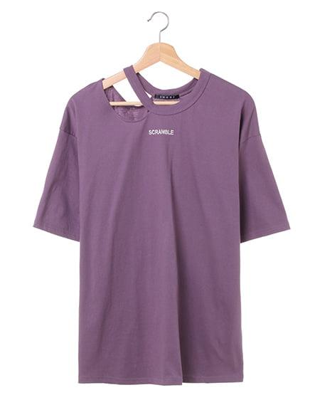 ネックスラッシュちびロゴTシャツ