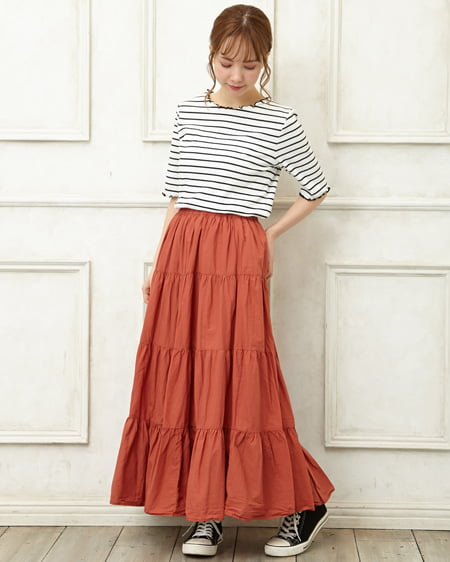 Skirts Hearty Brown New Look Skirt Size 22 High Quality Women's Clothing