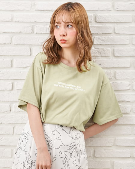 NEWベーシックロゴTシャツ(OUTLET)
