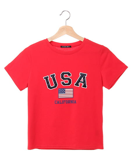 USAロゴTシャツ(OUTLET)