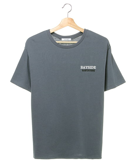 BAYSIDE/バックロゴTシャツ(OUTLET)