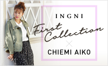 INGNI 2019 spring first Collection×Chiemi Aiko